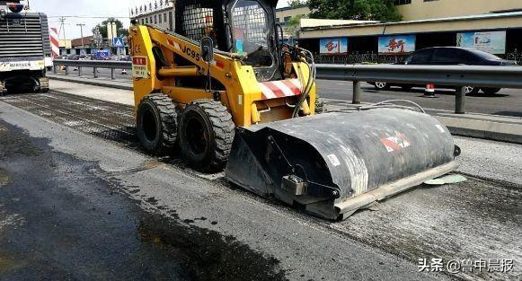 国道308桓台段开始中修,预计9月底主体完工