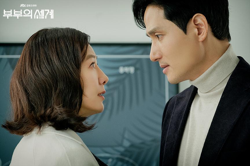 韩剧《夫妻的世界》收视率刷新非无线台电视剧历史纪录图片
