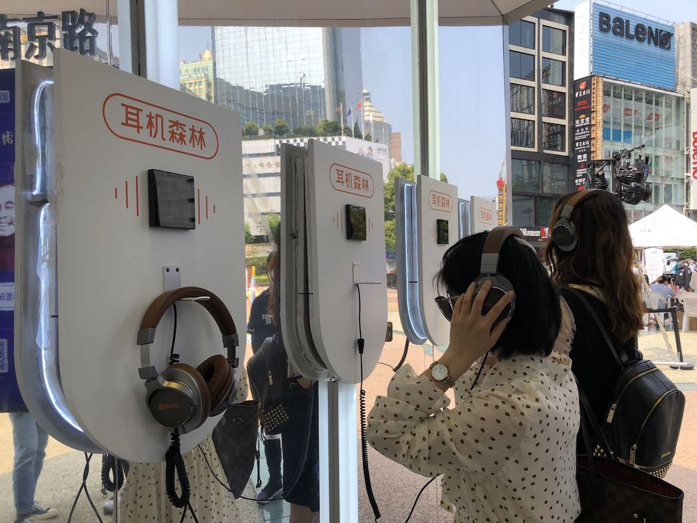 在南京路步行街,除了购物还能听上海故事