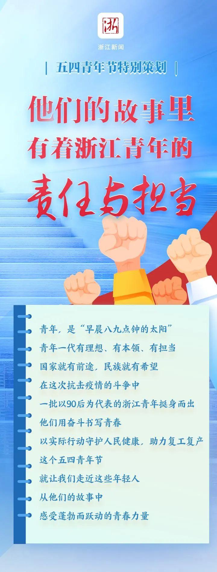 「杏悦注册」浙江青年的责任与担当杏悦注册图片
