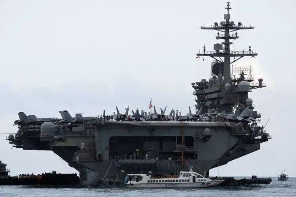 """▲美国海军""""罗斯福""""号航母(美国海军网站)"""