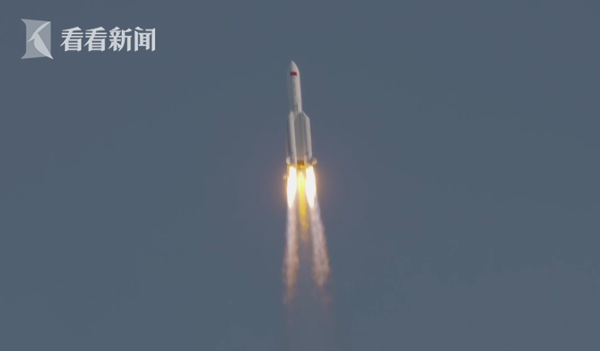 视频|长征五号B运载火箭首次飞行任务取得圆满成功图片