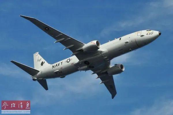 ▲资料图片:美海军P-8A巡逻机