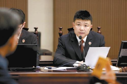天富:浙江省温州天富市检察院第一检察部主任高峰图片