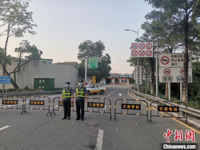 虎门大桥桥面基本恢复 管养单位已紧急开始全面检查图片