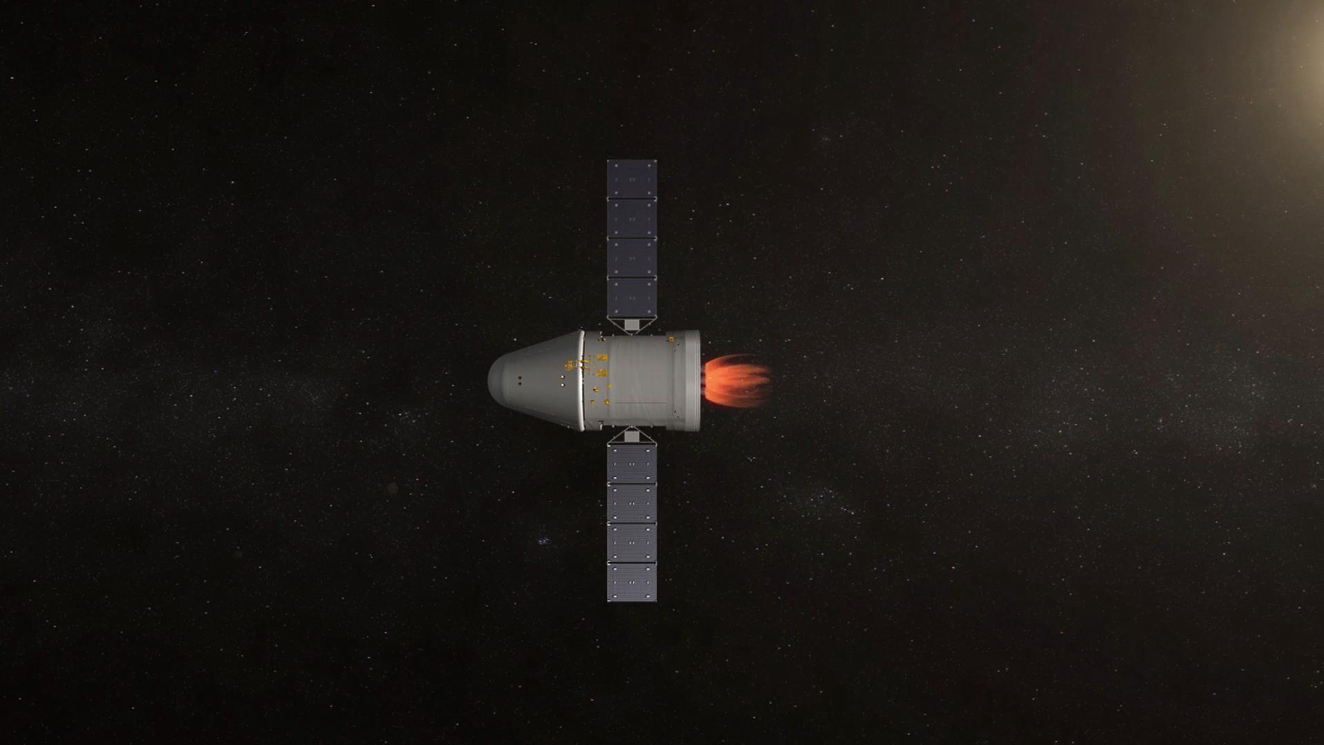 新一代载人飞船试验船在轨工作正常 8日将返回地面图片