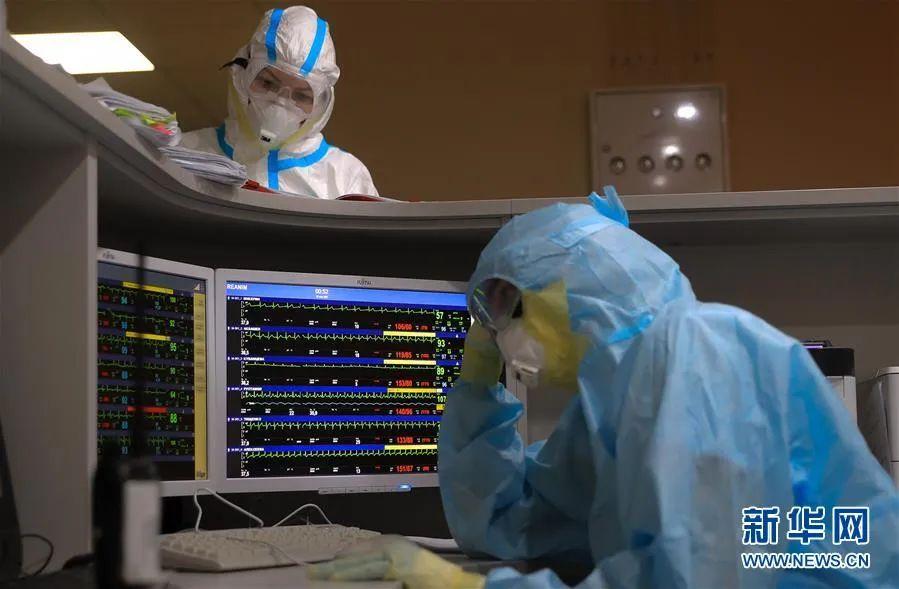 ▲5月2日,在俄罗斯首都莫斯科,医护人员在医院工作。新华社/卫星社