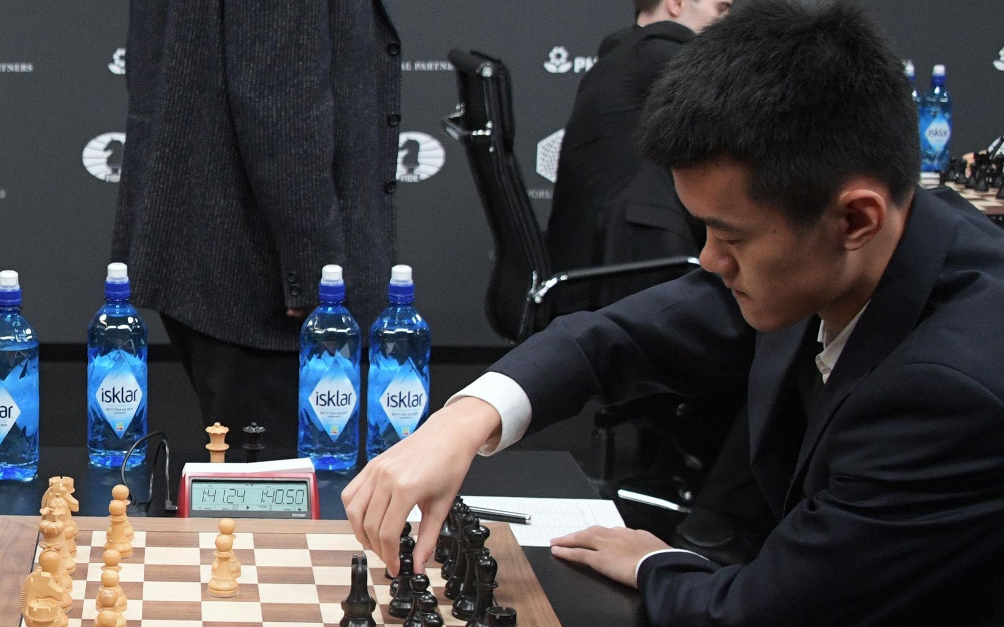 摩天平台:际象棋国家杯4轮战罢中国队继摩天平台续图片