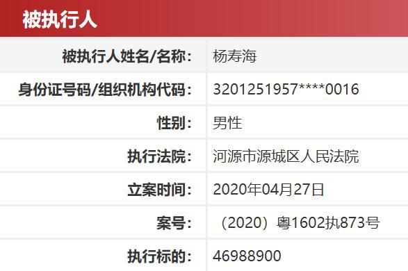 杏鑫:被占用牵出幕后富豪杨寿海资金告急杏鑫图片