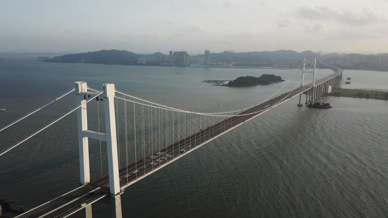 虎门大桥涡振持续超20小时,专家:不影响安全图片