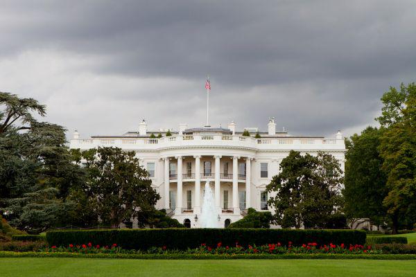 ▲美国白宫(视觉中国)