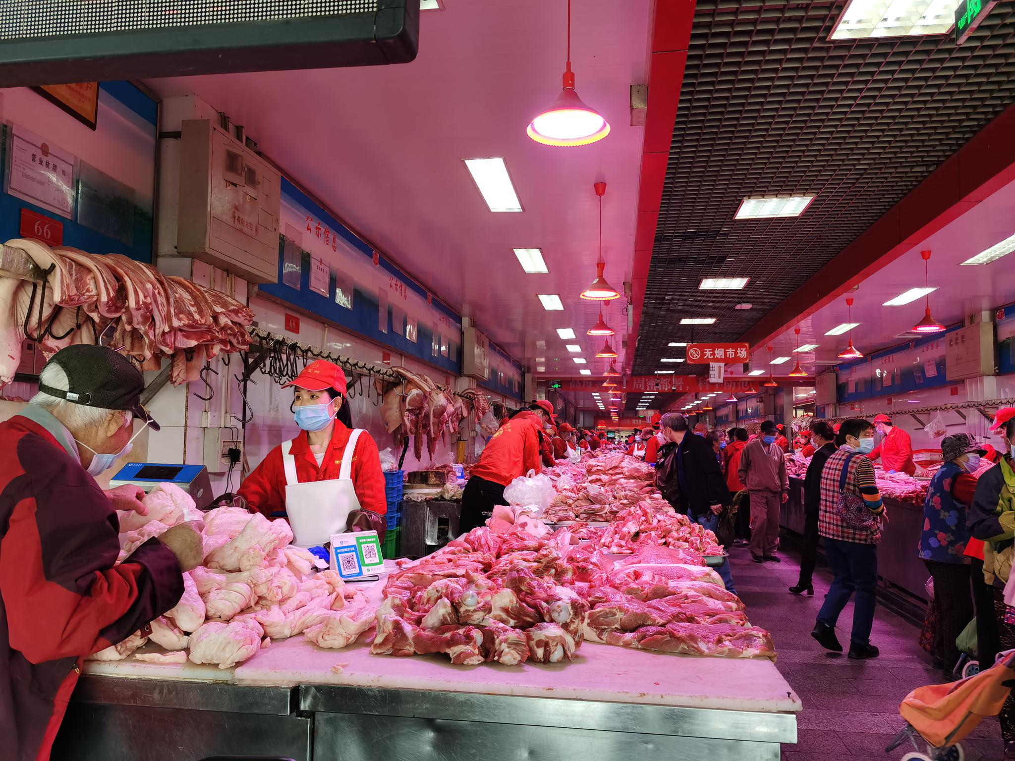 摩天登录,肉价格降至近一摩天登录年最低较2月最高图片