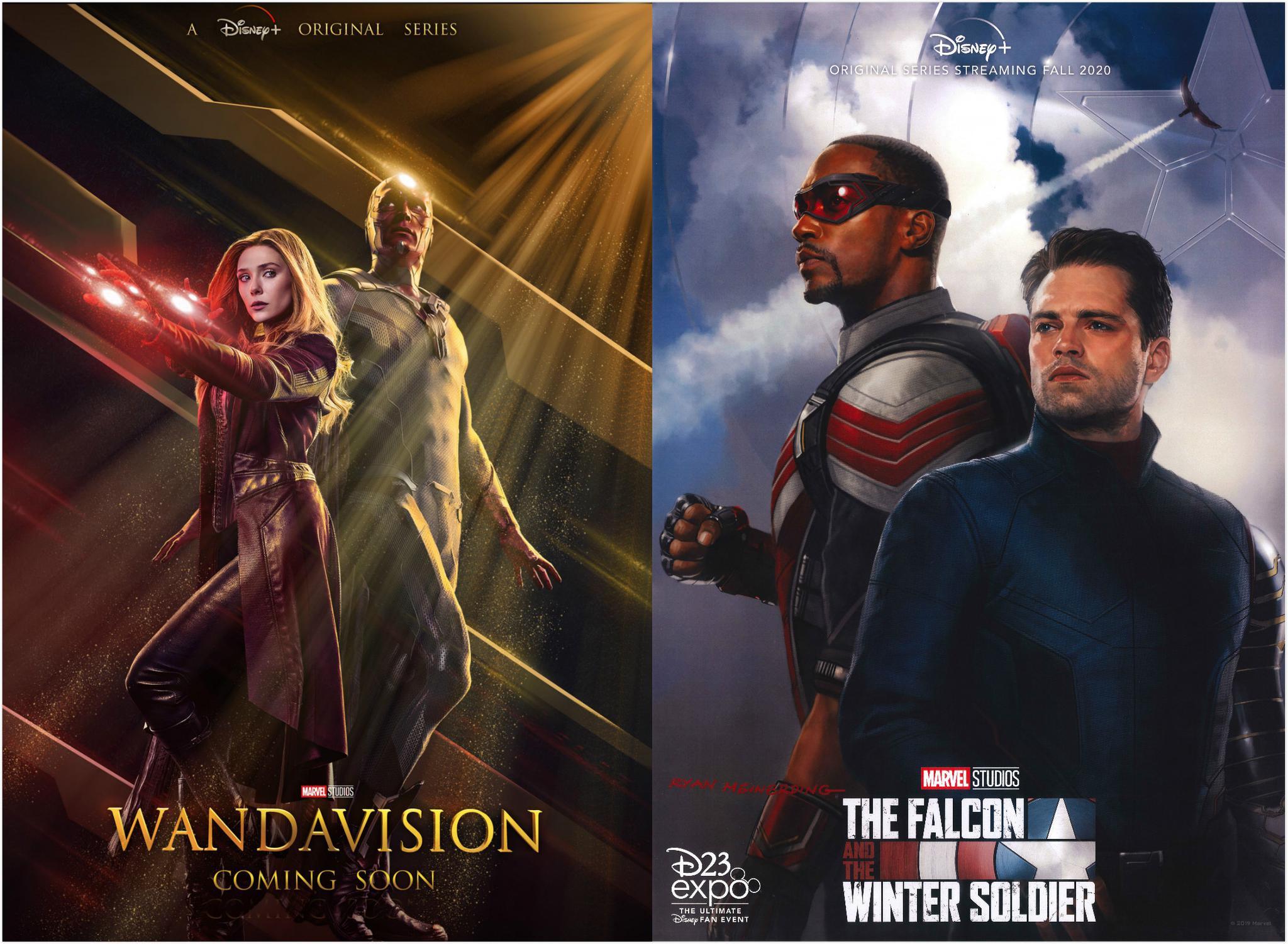《旺达·幻视》已完成特效制作,《猎鹰与冬兵》将复工图片