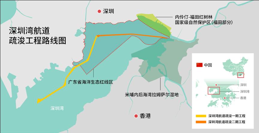 自然科学深圳湾环评造自然科学假凸显生态图片