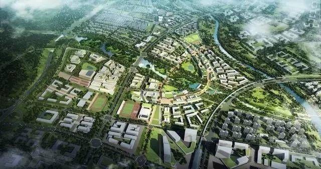 即墨蓝谷片区北航青岛国际科教新城一期预计2021年建成