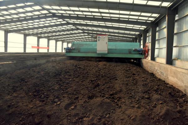 有机肥生产车间