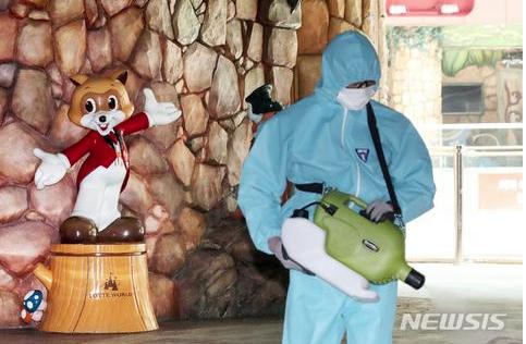 韩国最大室内游乐园暴发疫情