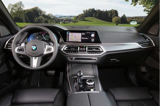 宝马2021款X5 xDrive45e发布:更强劲扭矩和更多科技元素