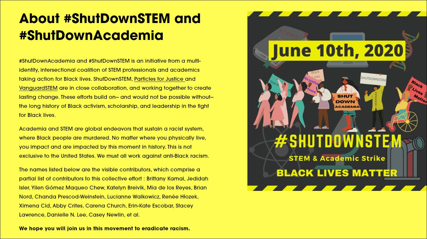 全球5000多名科学家罢工一天声援黑人