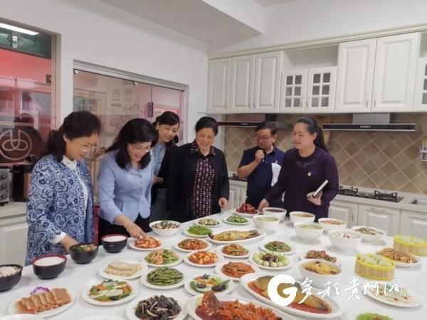 省妇联党组书记杨晓曼:把黔灵女家政服务公司办成爱心企业