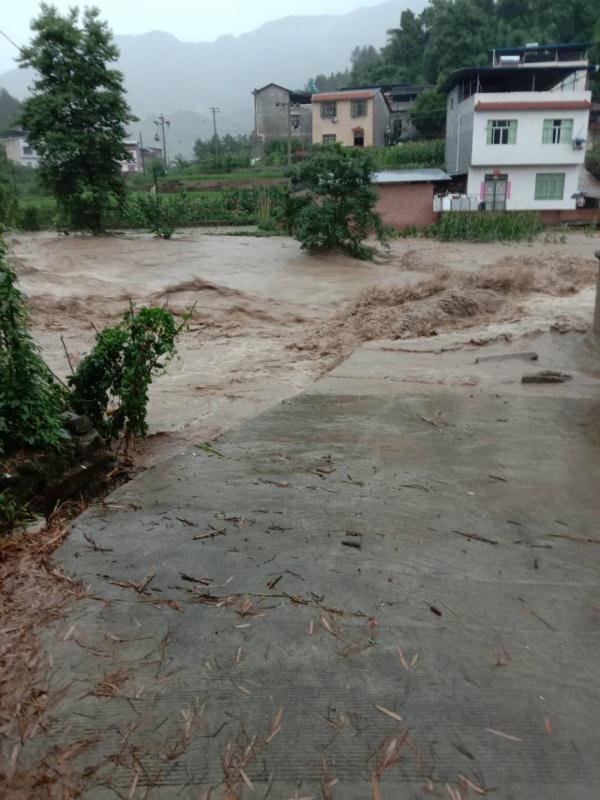 洪涝灾害已致重庆3区县9万余人受灾 1人因灾死亡图片