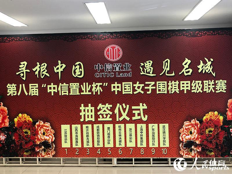 """组图:2020中国围棋甲级联赛及女子围甲""""云抽签""""仪式举行"""