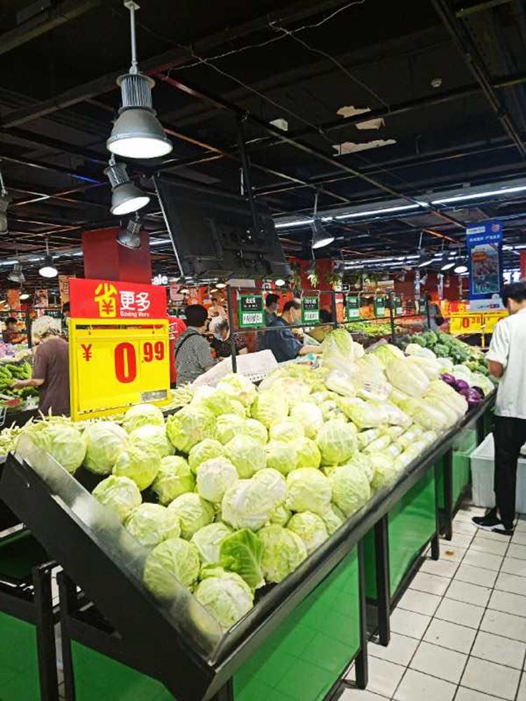 「宝宝计划」周末北京物美蔬菜供应比平时增宝宝计划图片