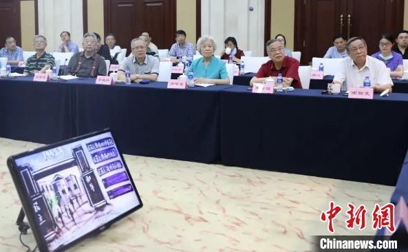 民革上海市委会举办座谈会纪念市委会成立65周年图片