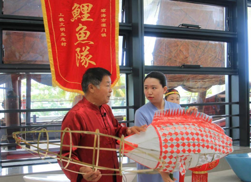 """中国(海南)南海博物馆开展云课堂讲述""""非遗""""背后故事"""