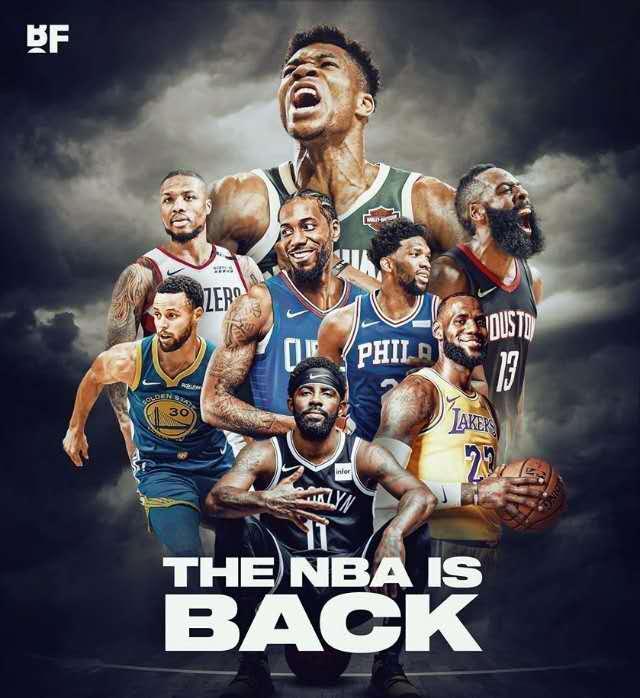 NBA球员工会内部现分歧,篮网球星欧文带头反对复赛图片