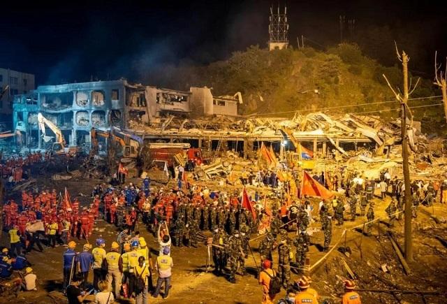 温岭槽罐车爆炸未与任何车辆接触 刑事责任如何认定?图片