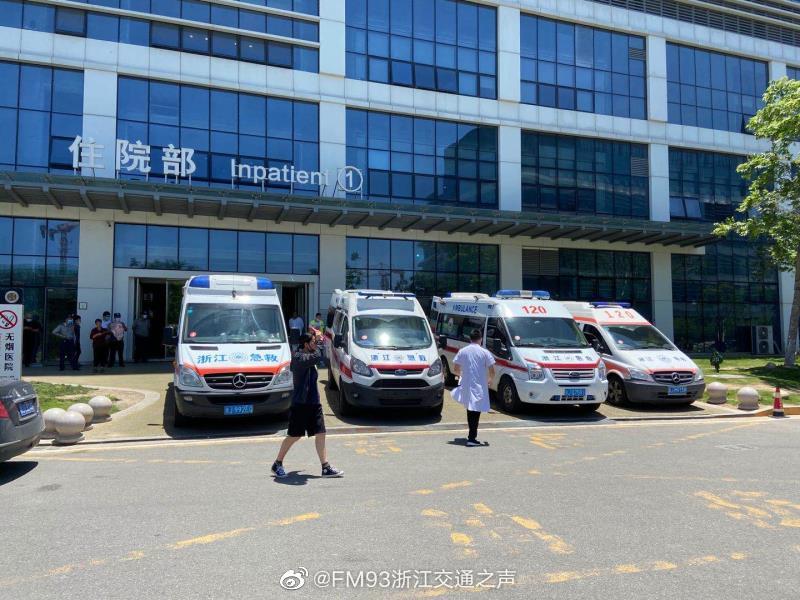 7辆护送爆炸重伤员救护车正赶往杭州,浙江广播呼吁沿途让行图片