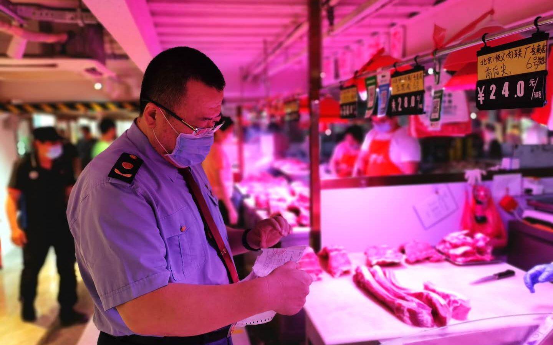 北京朝阳检查46家农贸市场 未从新发地采购海鲜和牛羊肉图片