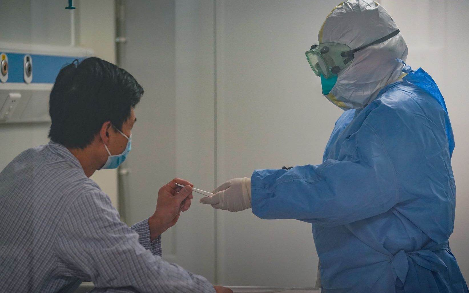 """北京地坛医院专家:个别患者出现""""非典型""""症状图片"""