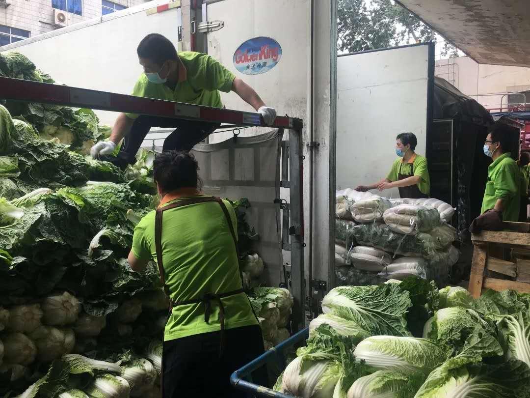 超400吨菜再抵京 河北省农业农村厅:咱有菜 请放心图片