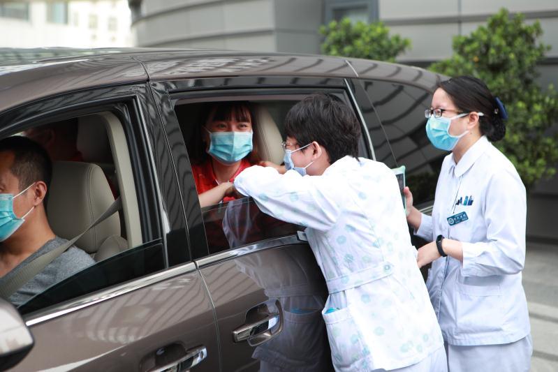 北京宣武医院援地坛医疗队本日出发 图/宣武医院