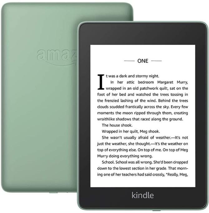 亚马逊电子书阅读器推出新配色,还优化了机身