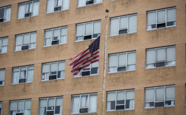 美国纽约伊莎贝拉老年中心。新华社 资料图