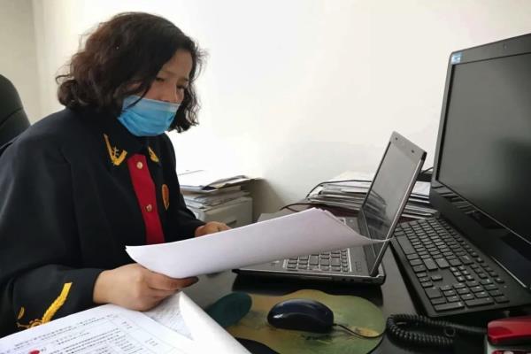 黑龙江南岔县法院:线上开庭不打烊 两起案件成功调解