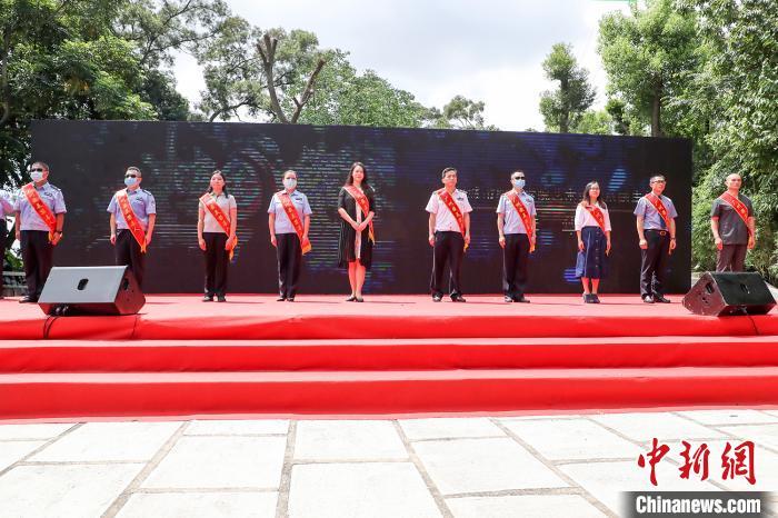 鸦片战争重要战场 广州牛山炮台遗址建成禁毒公园
