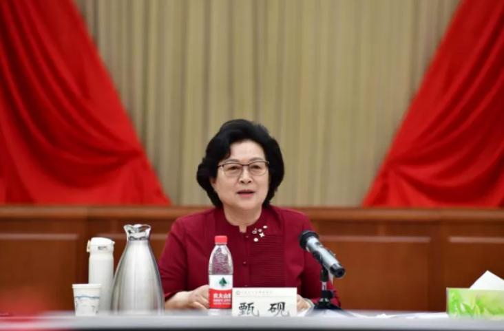 杏悦,全国妇联原副主席甄砚的新职务杏悦图片