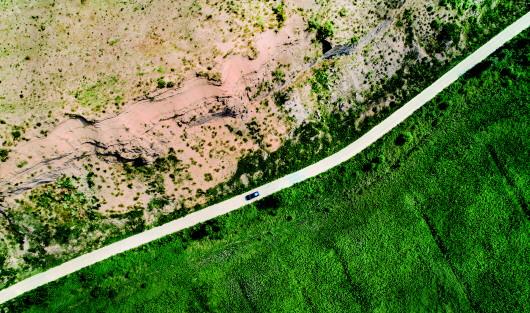 """毛乌素:""""沙漠""""没有消失,只是被人类缚住图片"""