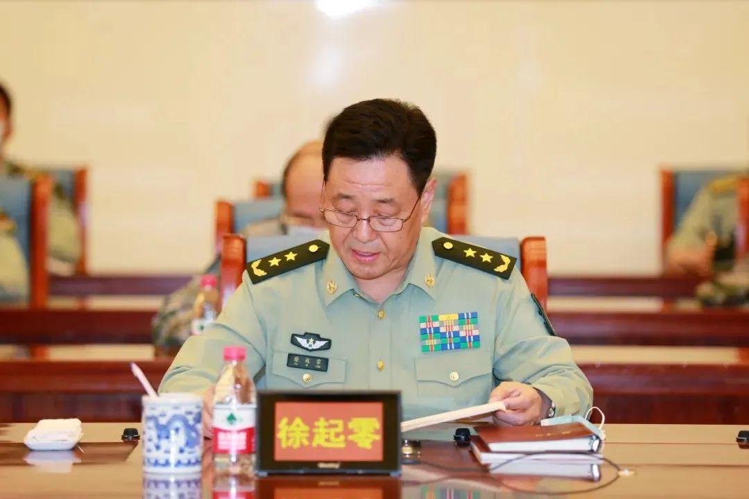 """新晋中将、""""铁军""""原参谋长跨战区履新图片"""