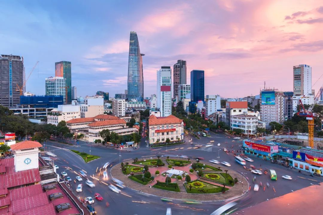 ▲资料图片:越南胡志明市城市景观