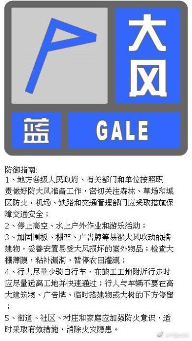 来源:北京市气象局官方微博