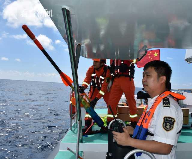 摩天测速海事局联摩天测速合三沙市消防救援支队图片