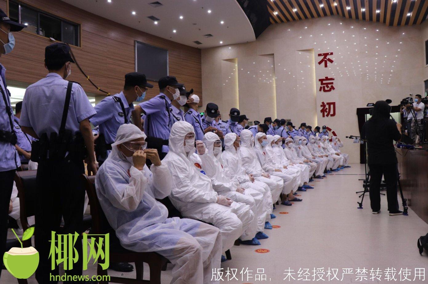 因被判24年有期徒刑不服上诉 海南高院再审陈恒贵涉黑案