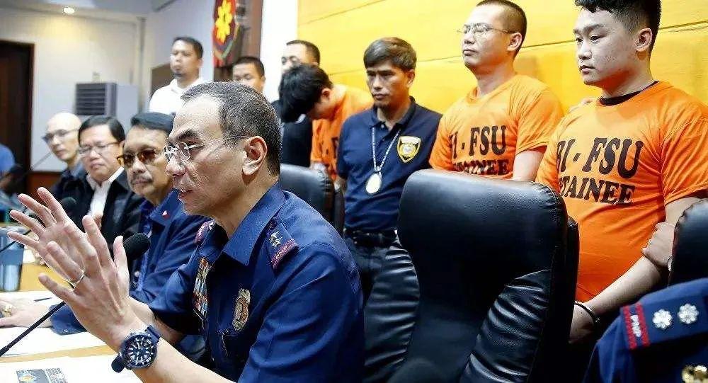 [摩天代理]菲律宾警摩天代理方逮捕90名中国人图片