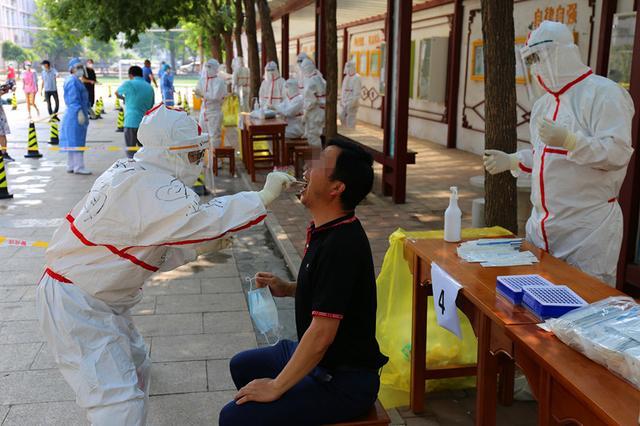 北京八宝山街道新增5个临时采样点,6万居民将有序就近检测图片