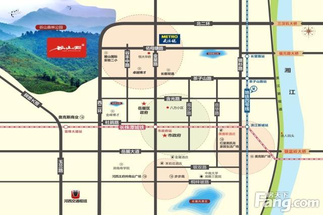 高鑫天麓 PK 谷山里谁是岳麓热门小区?